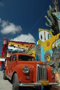 Kubanischer Hinterhof