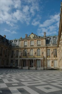 Versailles von vorne