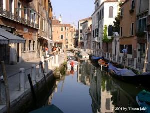 Ein stiller Kanal