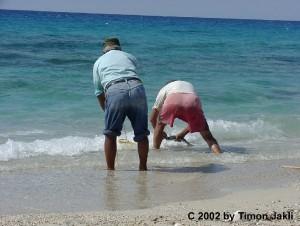 Fischer auf Lefkada