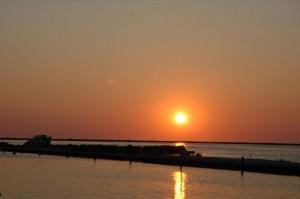 Sonnenuntergang in Lefkada