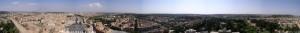 Panorama über Rom