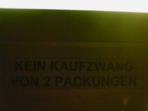 Kaufzwang
