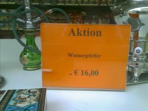 Wasserpfeifer