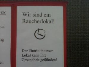 Raucherlokal