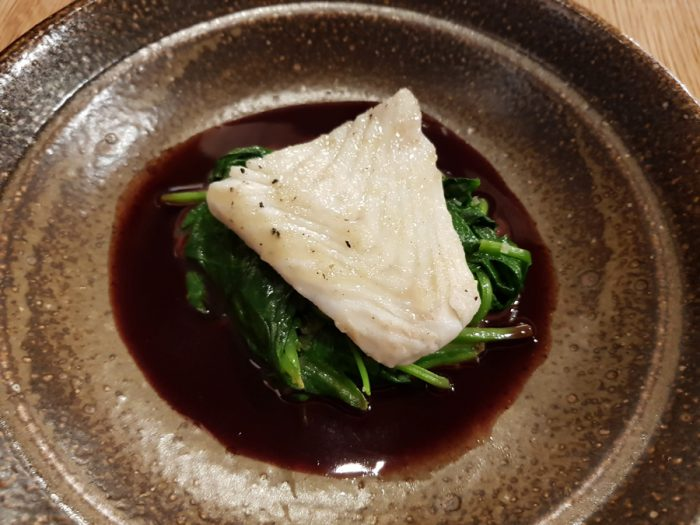 Turbot & Spinach