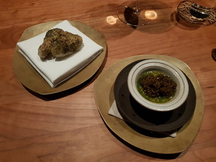 "chawanmushi, frantzén ""prestige oscietra caviar"", aged pork broth"