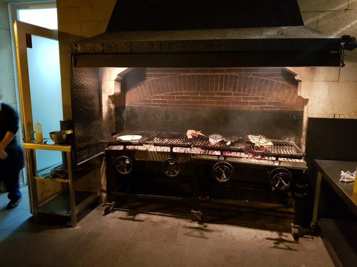 The impressive grill