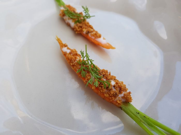 Carrot | Buttermilk | Caramelized milk protein