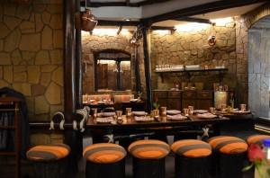 Bhukara Restaurant - Interior