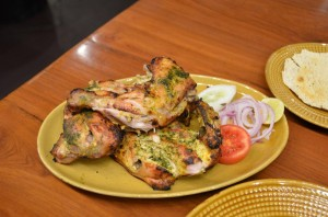 Tandoori Chicken at Bhukara