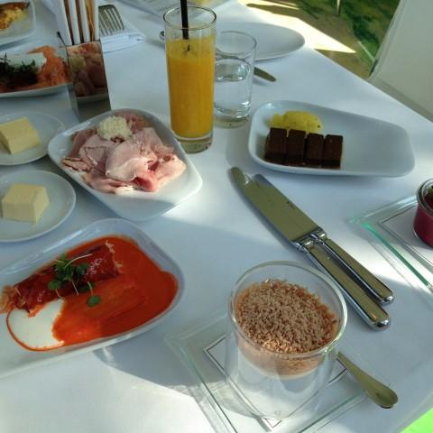 Breakfast at Meierei im Stadtpark