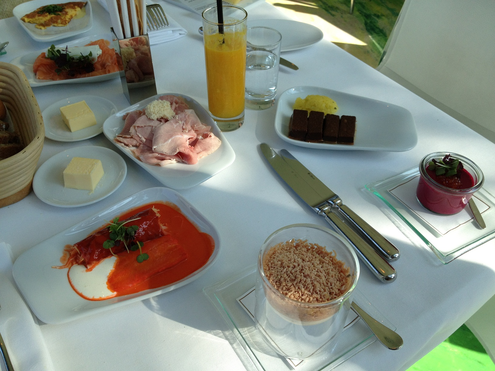 Meierei - Steirereck Breakfast
