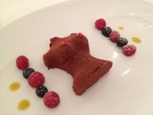 Surprise dessert: Cocos mousse