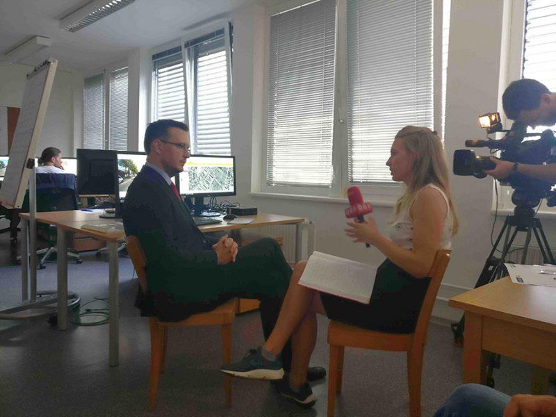 Interview für Wien Heute