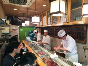 Sushi Dai - Inside