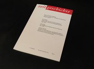 Der Aufsatz wurde in ZEITGESCHICHTE publiziert.