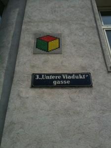 Space Invader - Untere Viaduktgasse