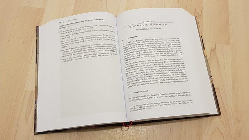 Jakli/Kohlhofer: Jehovas Zeugen in Österreich