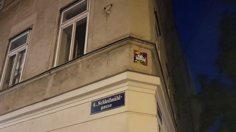 Space Invader Schleifmühlgasse