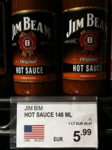 JimBim Hot Sauce...