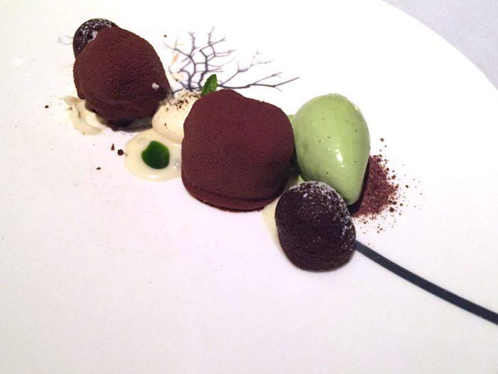 Chocolate | Dark chocolate chantilly and mint