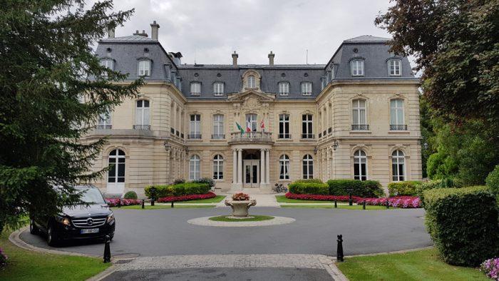 Domaine Les Crayeres - Outside