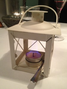 Lantern crème brulée