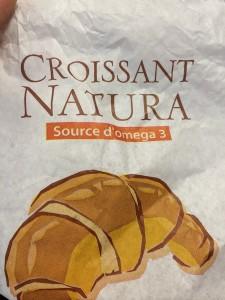Das Croissant als Quelle von Omega 3 Fettsäuren