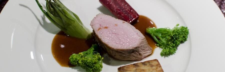 Fillet of veal (from Upper Austria), semolina, purple haze carrot, broccoli, salad burnet