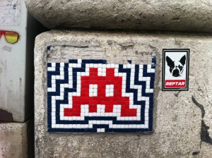 Space Invader - Werdertorgasse 2