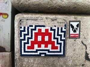 Space Invader - Werdertorgasse 2
